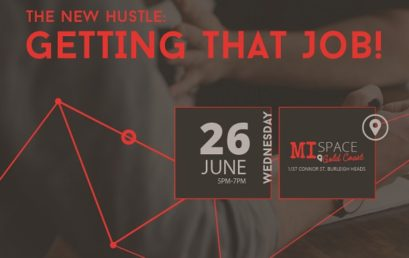 The New Hustle: Getting That Job Free Workshop