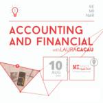 Accounting & Financial Seminar. Saturday, August 10 at 3 PM.