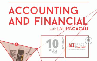 Accounting & Financial Seminar. Saturday, August 10 at 3 PM.