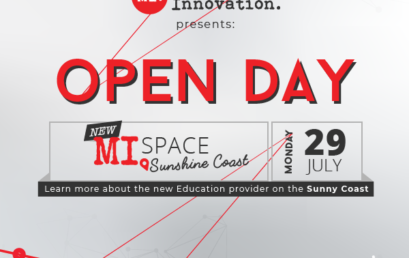 MI Space Sunshine Coast – OPEN DAY, July 29 at 5 PM