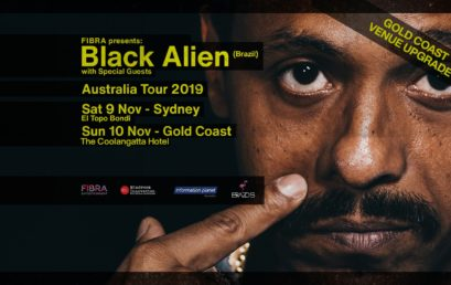 Fill in to have the chance to WIN a ticket to Black Alien on 10/11 – GOLD COAST.
