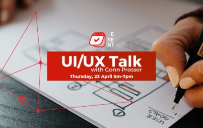 UX/UI Talk with Conn Prosser 23.04.2020